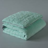 Kołderka i Podusia - VELVET COLLECTION – SET – BLANKET & MID PILLOW - Mint