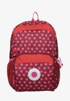 Mini Backpack Big Dottie red