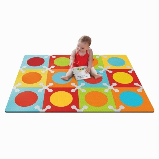 Piankowa mata do zabawy Playspot Bold Brights