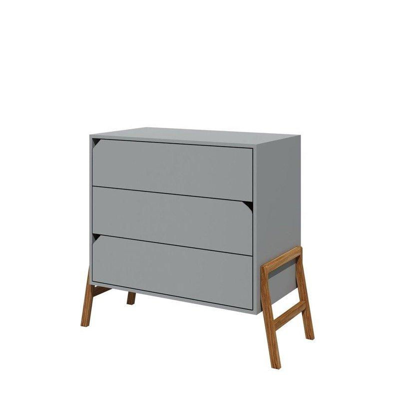 Bellamy Lotta gray komoda-3szuflady