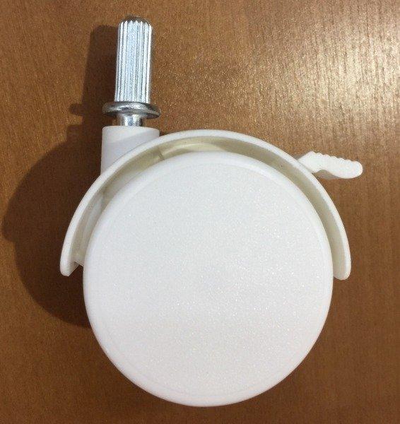 Kółka do łóżeczek (k. biały)