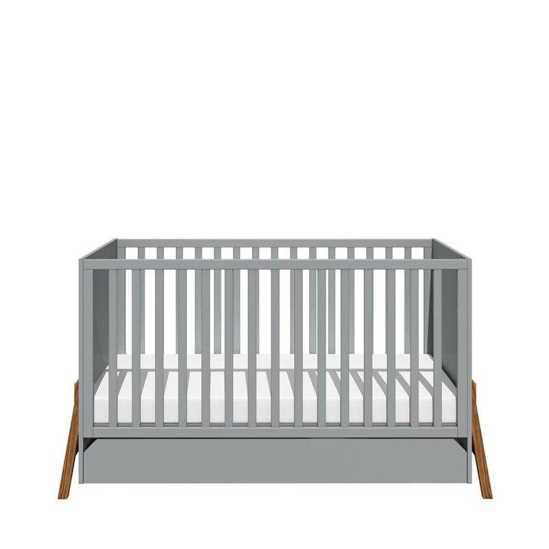 Bellamy Lotta gray łóżeczko 70x140
