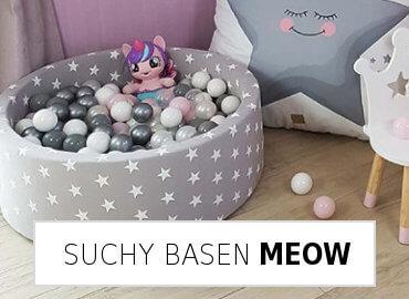 suchy basen Meow