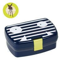 Lassig Lunchbox Little Monster granat