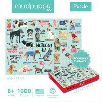 Mudpuppy Puzzle Hot Dogs