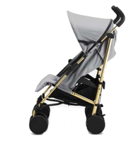 Wózek spacerowy Stockholm Stroller Golden Grey
