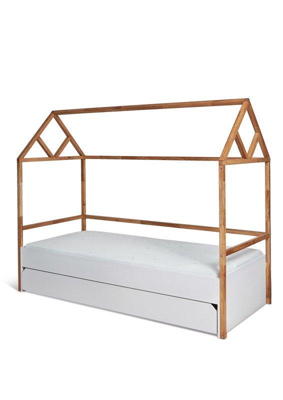 Bellamy Lotta łóżko Domek 90x200 Z Szufladą Snow Sklep Internetowy