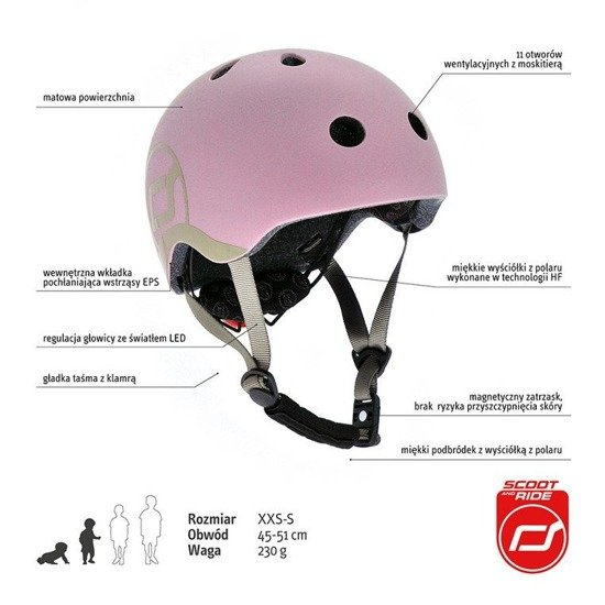 Kask Scootandride Rose