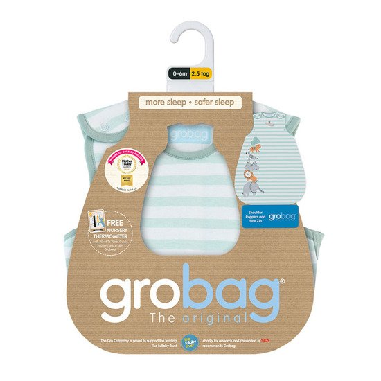Śpiworek Grobag Jungle Stack 2,5 tog, GRO Company