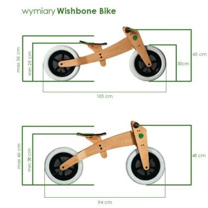 WISHBONE BIKE Rowerek biegowy Original